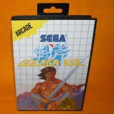 VINTAGE 1989 SEGA MASTER SYSTEM GOLDEN AXE ARCADE CARTRIDGE VIDEO GAME PAL