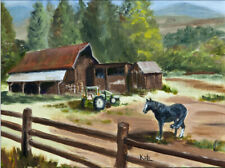 Around Whitefish Lake - A ranch near Whitefish, Montana
