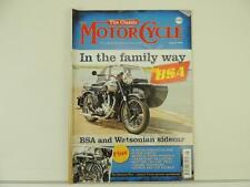 August 2009 Motorcycle Magazine BSA Watsonian Norton 2 Day Trial L2390