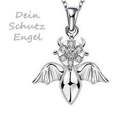 Markenlose Modeschmuck-Halsketten & -Anhänger aus Kristall mit Zirkonia