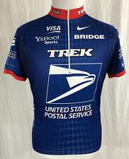 United States Postal Service USPS - Nike - Blue Men's 1/2-Zip Cycling Jersey