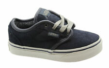 Kids's VANS Atwood Lace-up Trainers in Blue UK 11 Kids / EU 28