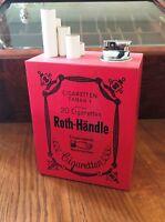 Roth Händle Tischfeuerzeug, Legende aus den 60/70er Jahren, sehr schöner Zustand