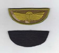 SPECIAL AIR SERVICE PARACHUTE WINGS SPECIAL FORCES - DESERT HOOK AND LOOP