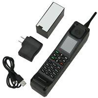New Dual Sim Quadband Classic Old Vintage Brick Cell Phone GSM 900/1800/1900MHz