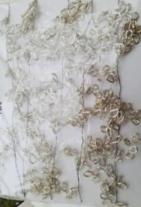 BNWT The White Company  Extra Long Silver Christmas Garland