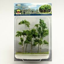 """JTT Scenery Products Green Woods Edge Trees, O-Scale, 4"""" to 5.5"""", 5/pk, 95618"""