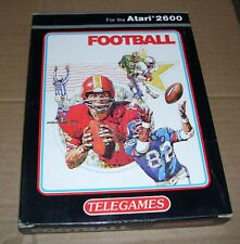 Atari VCS 2600 video game console cartridge football NEW BOXED Telegames
