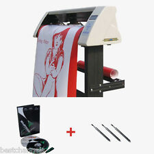 "48"" Sign Sticker Vinyl Cutter Plotter With Contour Cut Function+Stand +Software"