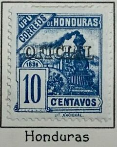 Honduras #MiDM24 Mint 1898 Locomotive Official [O24]