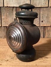 Antique FORD Model Edmond & Jones Auto Car Oil Lamp Light Lantern