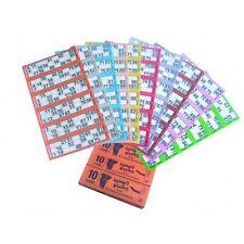 1500 BOOKS 8 PAGE (GAMES) 6 TO VIEW JUMBO BINGO TICKETS SHEET