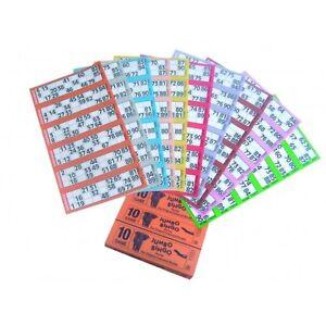 12000 BOOKS 6 PAGE (GAMES) 12 TO VIEW JUMBO BINGO TICKETS SHEET