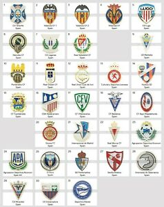 Badge Pin: Spanish football club Part 2