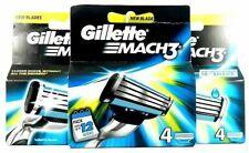 Gillette Mach 3 Razor Blades x 4