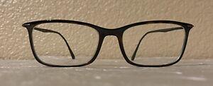 Ray Ban LightRay eyeglasses frame RB 7031 2301 55-17 145 Tortoise Dark Brown