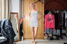 H&M Bodycon Stripy Mini Dress (S)
