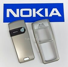 ORIGINAL NOKIA 6230 A+B COVER OBERSCHALE FRONT BACK HOUSING FASCIA TIN GREY NEU