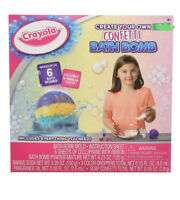 Crayola Create Your Own Bath Bomb Confetti Makes Up To 6 Scented Vanilla/Coconut