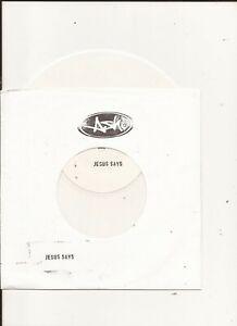 "Ash - Jesus Says ( White Label White Vinyl 7"" )"