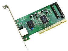 Gigabit RJ45 Ethernet LAN Network PCI with custom hardware MAC address change
