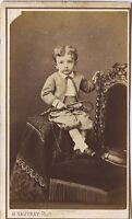 H.Vauvray Fotografia Parigi Robert Dubai CDV Vintage Albumina Ca 1865