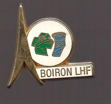 Pin's laboratoire pharmaceutique - fusion Boiron et LHF (signé Arthus Bertrand)