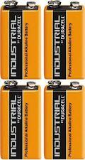 Duracell Industrial Alkaline 9v Battery - Pack of 4   MN1604 LR22