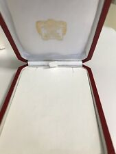 authentic Cartier necklace C 4018 With Outer White Box