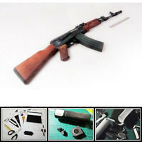 1:1 Scale CS AK74 AK47 Assault Rifle Gun 3D Paper Model Puzzle Kit DIY Cosplay