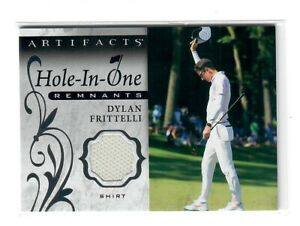 2021 UPPER DECK ARTIFACTS GOLF DYLAN FRITTELLI HOLE-IN-ONE REMANTS RELIC