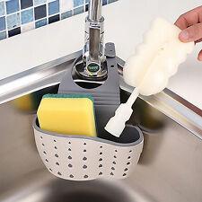 Sink Caddy Soap Storage Basket For Kitchen Organization Silicone Sponge Holder