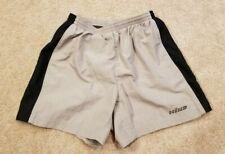 Hind Womens Tan/Black Athletic Shorts, Size Small