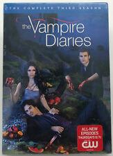 The Vampire Diaries: The Complete Third Season (DVD, 2012, 5-Disc Set) BRAND NEW