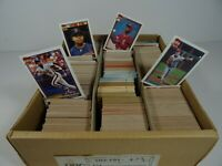 Bulk Lot of 1991 MLB Major League Baseball Trading Cards Topps 40 Years