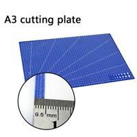 A3 Grid Lines Cutting Mat Non-slip Fabric Cutting Plate New Board Paper X2C4