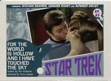 Star Trek TOS Captains Collection Lobby Chase Card #63 For the World is Hollow