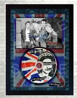 SEX PISTOLS God Save The Queen SIGNED FRAMED PHOTO CD Disc Perfect gift #1
