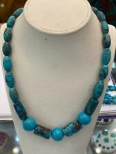 """Genuine Natural Egyptian Turquoise Necklace 20"""""""