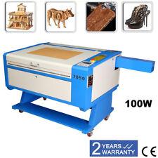 100w CO2 Machine Laser à Graver TROCEN Control Engraving Engraver 700*500mm