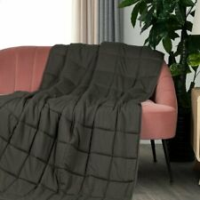 20 Lb Weighted Throw Blanket Reduce Insomnia Stress Anxiety Promote Deep Sleep