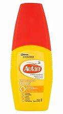 10X AUTAN PROTECTION PLUS Spray da 100ml BARRIERA CONTRO ZANZARE TAFANI E ZECCHE
