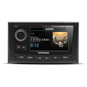 """Rockford Fosgate Punch PMX-8DH Full Function Wired 5"""" Marine Display for PMX-8BB"""