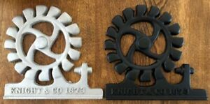 Knight Foundry Handmade Water Wheel Replica Casting - 2 Colors - Decor, Gift