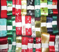 Cinta de la Navidad mixto Designs-un Paquete De 50 Piezas De 3 Mt longitudes para £ 24.99