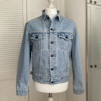 Levi Strauss 70503 02 Denim Jacket Size M Mens Vintage 90s Jean Trucker Blue