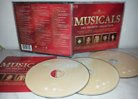 3 CD MUSICALS - THE PREMIER COLLECTION - BALL - PAIGE - DALLAS - MINNELLI