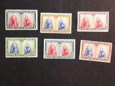 Spain 1928 VF Mint Hinged Semi Postal Partial Set