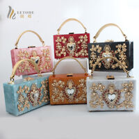 Women's Handbags Evening Clutch Bag Acrylic Shoulder Bags Totes Wallet Coin Box