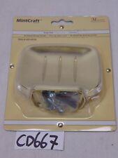NEW MINTCRAFT 600-6639 SOAP DISH HOLDER WALL MOUNT POLISHED BRASS